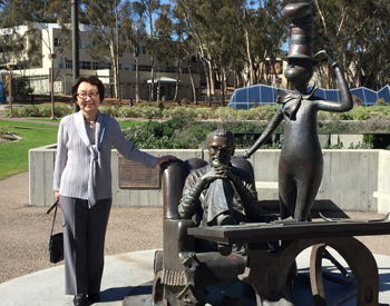 PLF Yoriko Kawaguchi at UC San Diego