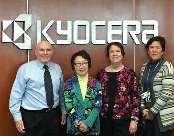 PLF Yoriko Kawaguchi at Kyocera